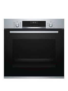 Bosch   Serie 6 Hba5570S0B Built-In Single Oven With Autopilot - Stainless Steel