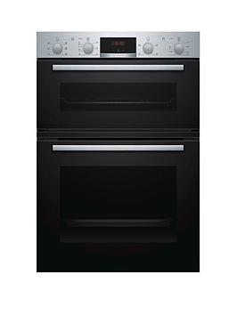Bosch   Mbs133Br0B Built-In Double Oven - Stainless Steel