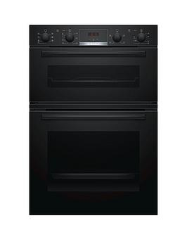 Bosch   Serie 4 Mbs533Bb0B Built In Double Oven