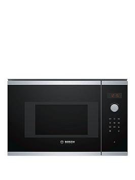 Bosch   Serie 4 Bfl523Ms0B Built-In Microwave With Autopilot - Black
