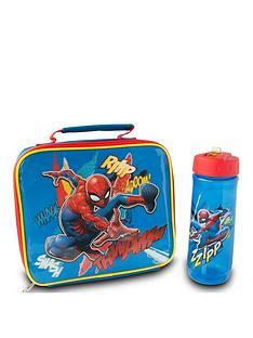 spiderman-lunch-bag-bottle-set