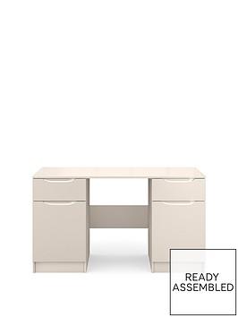 ideal-home-bilbao-ready-assembled-high-gloss-desk-cashmere