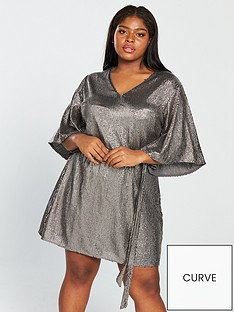 v-by-very-curve-kimono-sleeve-sequin-dress-silver