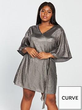 v-by-very-curve-kimono-sleeve-sequin-dress-silver