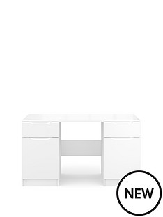 ideal-home-bilbao-ready-assembled-high-gloss-desk-white