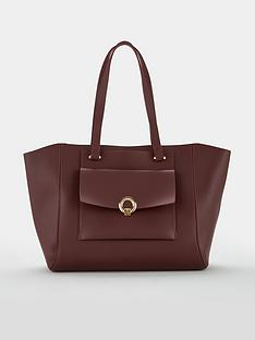 v-by-very-jaimie-pocket-front-tote-bag-burgundy