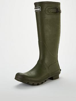 Barbour Barbour Bede Wellingtons - Olive Picture