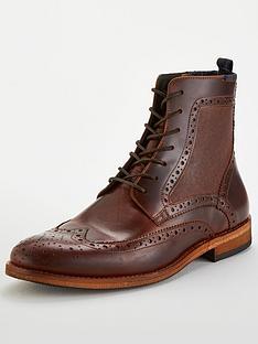 barbour-belford-brogue-boots-mahogany