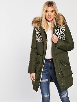 v-by-very-hybrid-mix-padded-coat-khaki