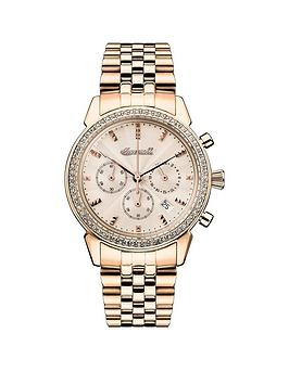 Ingersoll Ingersoll Ingersoll 1892 The Gem Rose Gold Jewelled Chronograph  ... Picture