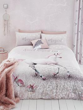 Catherine Lansfield Catherine Lansfield Enchanted Unicorn Duvet Cover Set Picture
