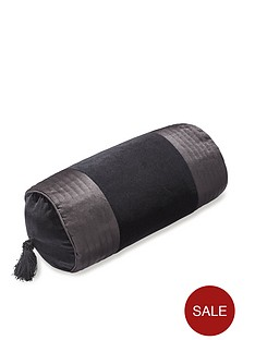 dorma-obi-velvet-panel-filled-bolster-cushion