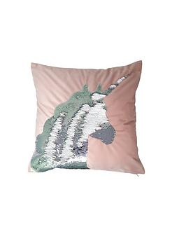 Catherine Lansfield Catherine Lansfield Sequin Unicorn Cushion Picture