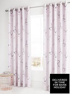 catherine-lansfield-enchanted-unicorn-eyelet-curtains