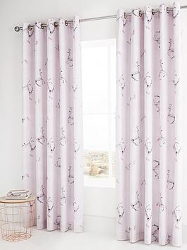 Catherine Lansfield Catherine Lansfield Enchanted Unicorn Eyelet Curtains Picture
