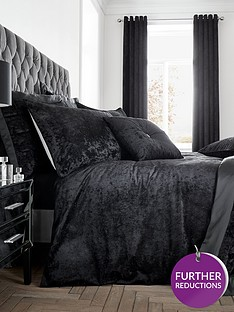 catherine-lansfield-crushed-velvet-duvet-cover-set-midnight-blacknbsp