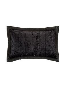 catherine-lansfield-crushed-velvet-pillow-sham-pair-ndash-midnight-black