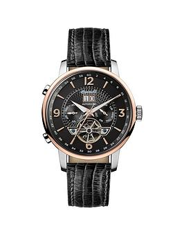 Ingersoll Ingersoll 1892 The Grafton Black And Rose Gold Chronograph Dial  ... Picture