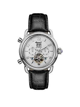 Ingersoll Ingersoll 1892 The New England White And Silver Chronograph Dial  ... Picture