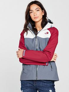 the-north-face-stratos-jacket-greyrednbsp