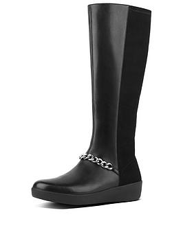 fitflop-fifi-chain-knee-boot-blacknbsp