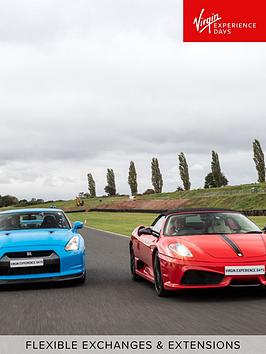 Virgin Experience Days Virgin Experience Days Double Supercar Blast In A  ... Picture