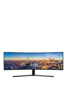 samsung-c49j890dkunbsp49inch-3840-x-1080-super-ultra-wide-curved-monitor