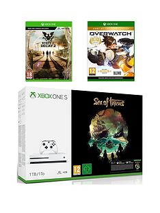 xbox-one-s-xbox-one-s-1tb-console-and-sea-of-thieves-bundle-state-of-decay-2-overwatch-and-12-months