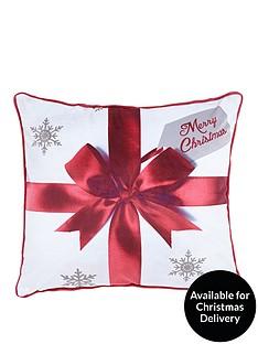 catherine-lansfield-merry-christmas-pressies-cushion
