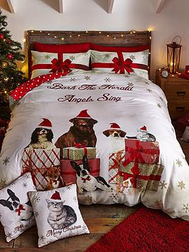 catherine-lansfield-party-animals-christmas-duvet-cover-set
