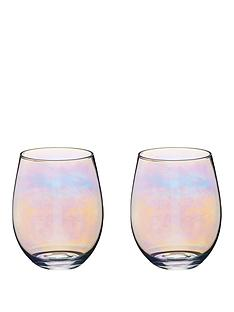 kitchencraft-iridescent-600-ml-tumbler-glasses-ndash-set-of-2