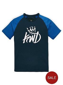kings-will-dream-boys-grid-contrast-t-shirt-navy