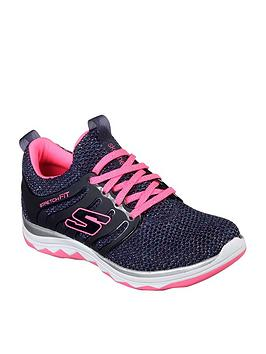skechers-skechers-diamond-runner-sparkle-knit-lace-up-trainer