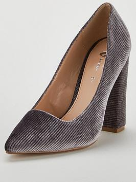 v-by-very-cate-block-heel-point-court-shoe-grey