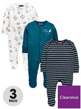 mini-v-by-very-baby-boys-3pk-animal-space-sleepsuits