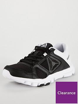 3cf0c9d455ea Reebok Yourflex Trainer - Black White