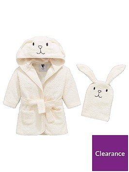 mini-v-by-very-baby-unisex-2-piece-bunny-robe-and-mitt-set-white