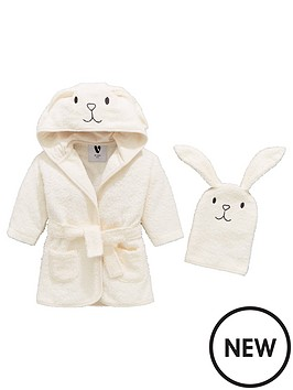 mini-v-by-very-baby-unisex-bunny-robe-mitt-set