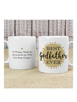 Very Personalised Best Godfather/Godmother Mug - Godmother Picture