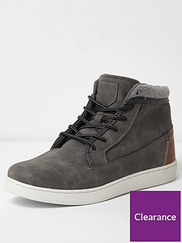 river-island-swanley-mid-top-trainer