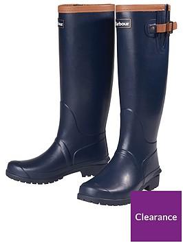 barbour-blyth-wellington-boot-navy