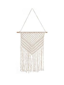 Ideal Home Ideal Home MacramÉ Wall Hanging Picture
