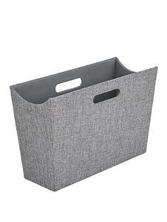 ideal-home-grey-magazine-holder