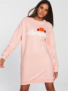 ellesse-exclusivenbspbella-sweat-dress-pinknbsp