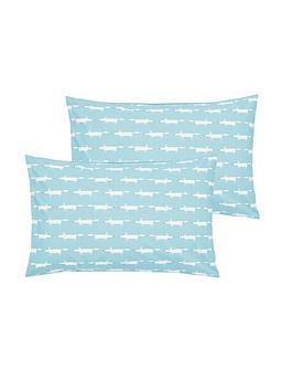 Scion Scion Mr Fox Housewife Pillowcases (Pair) Picture