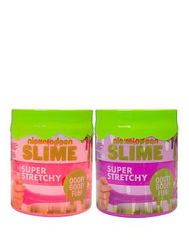 nickelodeon-super-stretchy-slime-duo-pack-ndash-pink-and-purple