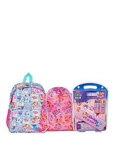 paw-patrol-paw-patrol-girls-glitter-back-pack-shoe-bag-and-bumper-stationery-set