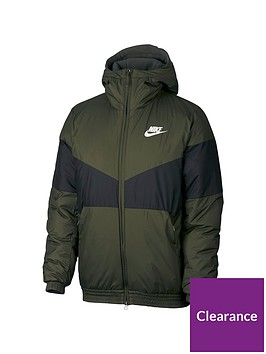 nike-sportswear-hooded-jacket-khaki