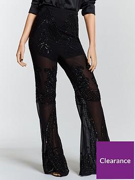 michelle-keegan-premium-hand-embellished-trouser-black