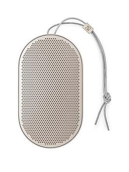 Bang & Olufsen   Beoplay P2 Wireless Portable Speaker - Sand Stone